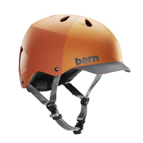 Bern WATTS H2O Helm 2019 orange hatstyle, L