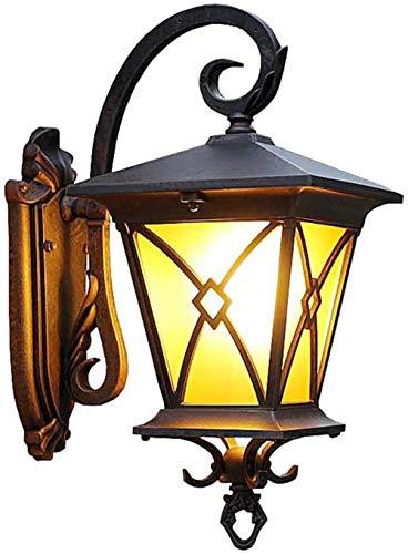 Klassieke Europese klassieke Outdoor Villa Garden Facade Buitenverlichting Yard Waterdichte Deur open Pavilion wandlamp