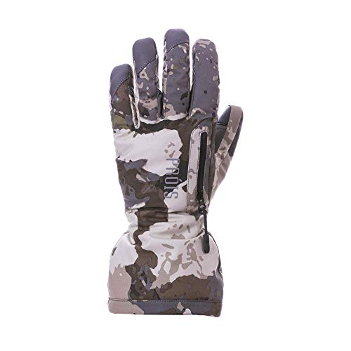 Prios Dionla Gloves - Insulated Women's Hunting Accessory, Veil Cumbre Camouflage, Waterproof, Touch Screen Compatible