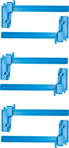 Excel Blades 3 Inch Plastic Bar Adjustable Clamps...