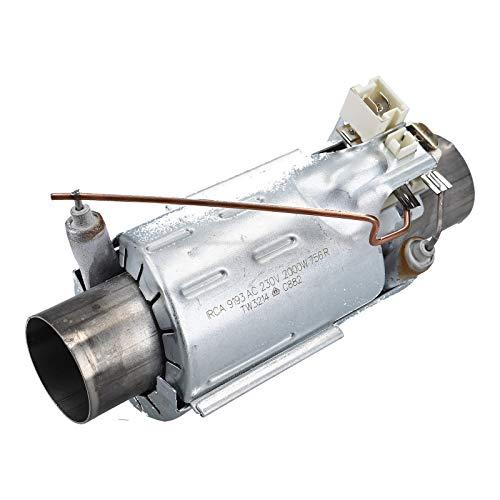 DL-pro Heizung passend für AEG Electrolux Heizelement Durchlauferhitzer 32mm wie 5029761800/6 50297618006 230V Geschirrspüler Spülmaschine
