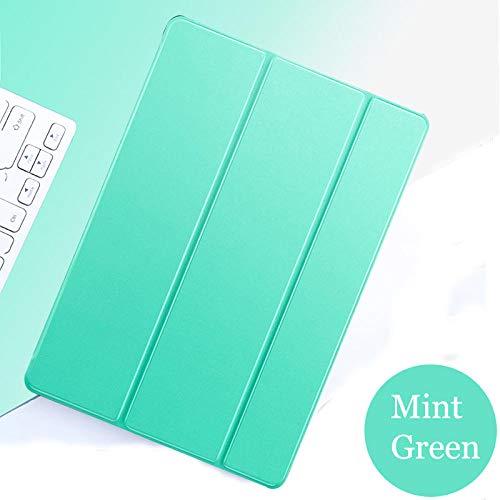 Tablet flip case voor Samsung Galaxy Tab S2 9.7 cover Smart Sleep wake funda Stand capa solide kaart voor SM-T810 / T815 / T813 / T819 N Mint Groen