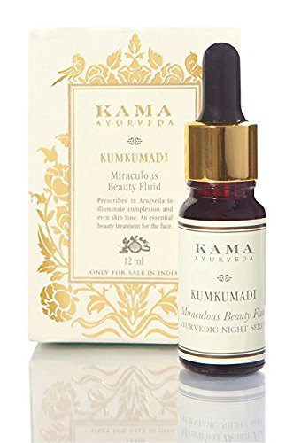 Kama Ayurveda Kumkumadi Miraculous Beauty Ayurvedic Night Serum, 0.40 Fl Oz