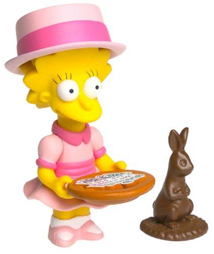 The Simpsons Series 9 Playmates Action Figure Sunday Best Lisa
