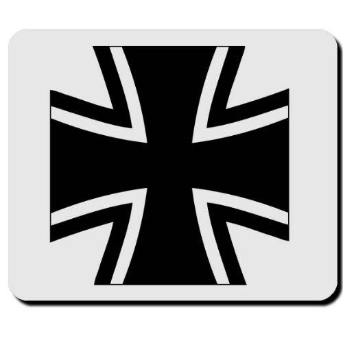 BW Kreuz Panzer Marine Heer Bundeswehr Symbol Wappen Abzeichen Emblem - Mauspad Mousepad Computer Laptop PC #16481