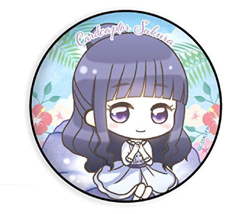 【大道寺知世】 缶バッジ カードキャプターさくら クリアカード編 05 夏Ver.(ミニキャラ)