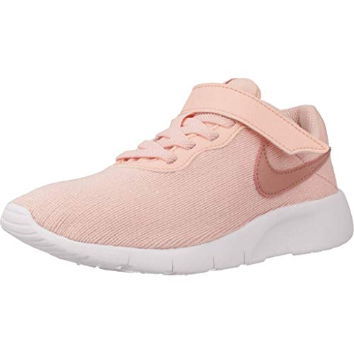 Nike Mädchen Tanjun Se (PSV) Laufschuhe, Mehrfarbig (Storm Pink/Rust Pink-White 603), 28.5 EU