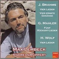Brahms/Mahler/Wolf