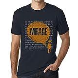 Photo de Homme T Shirt Graphique Imprimé Vintage Tee Thoughts Mirage Marine