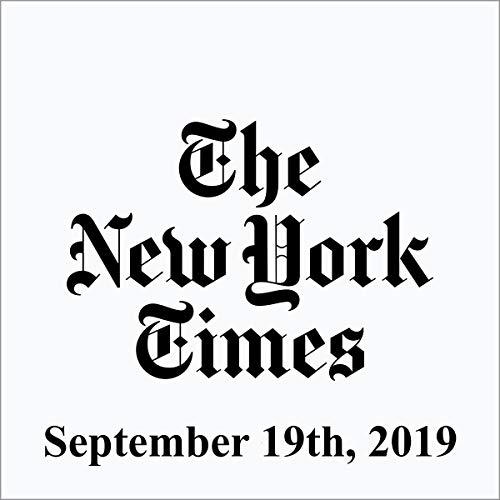 September 19, 2019 cover art
