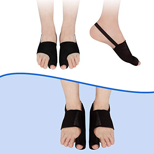 Upgraded Bunion Corrector, Bunion Corrector for Women&Men, Bunion Splint, Orthopedic Bunion Corrector Big Toe Bunion Relief, Day Night Exchangeable, 3 Pairs