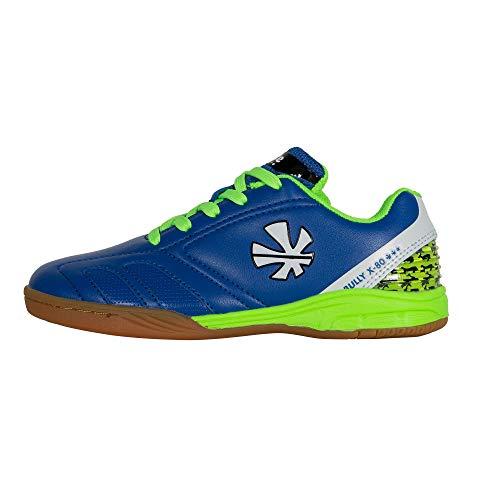 Reece Bully X80 Indoor Hockey Schuhe Halle blau-grün Kinder blau-grün, 35
