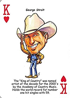 George Strait trading card (King of Country) 2017 Hero Decks Tribute to Country #K