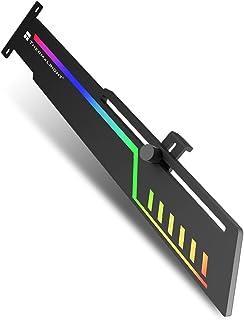 Thermalright ARGB GPUホルダーカラフルなARGBグラフィックカード、 汎用ビデオカードホルダー GPUブレースサポート、グラフィックカードを固定する 、ビデオカードサグホルダー 、5V 3ピン