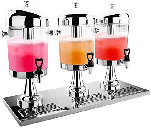 LF- RVS Sap Statief Enkele Hoofd Juice Emmer Commerciële Dubbele Hoofd Drank Machine Hotel Cold Drink Machine Hoge capaciteit