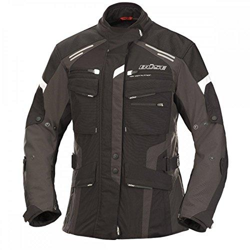 Büse Torino Evo Damen Jacke schwarz anthrazit, Größen:44