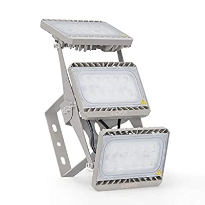 150W LED Flood Light,15,000lm Super Bright Security Lights with Wider Lighting Area,IP66 Waterproof Outdoor Flood Light,CREE Chips 6500K Daylight White Work Light for Parking Lot,Stadium,Yard,Street