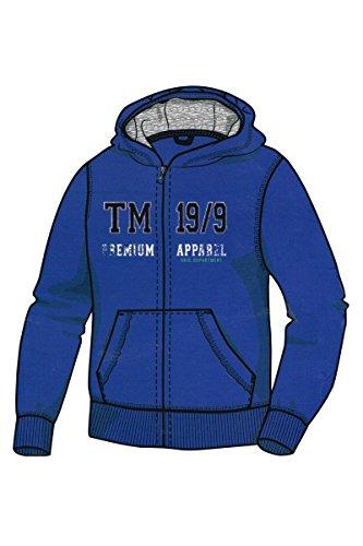 Pepperts! Jungen Sweatjacke Kapuzenjacke Pullover Trainingsjacke Jacke Hoodie (134/140, Blau)