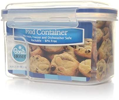 Plastic Food Virginia Beach Mall Container 1.5L San Jose Mall of 24 Case