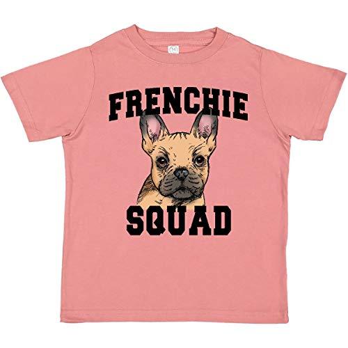 inktastic Cute French Bulldog Frenchie Squad Toddler T-Shirt 2T Mauve 397c9
