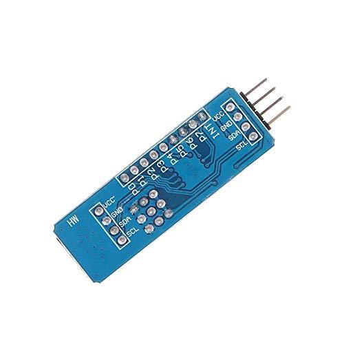 Modul-Konverterplatine für Arduino – Produkte, die mit offiziellen Arduino Boards arbeiten, 5 Stück PCF8574 PCF8574T Modul IO Erweiterung I/O I2C Konverterplatine Netzteil Modul