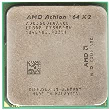 AMD Athlon 64 X2 3600+ 512KB Socket AM2 Dual Core CPU