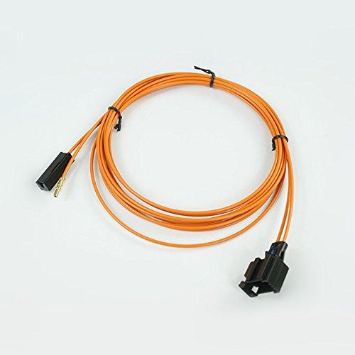 Câble de fibre optique femelle et connecteur de câble de rupture de 100 cm.