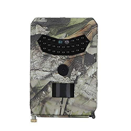 Blusea 12MP 1080P Wildkamera Unterstütze 32 GB TF Card 26 Stück 940 nm IR-LEDs Schwarzlicht 15 m Nachtsicht und IP56 Wasserdicht Jagdkamera(Ohne SD-Karte)