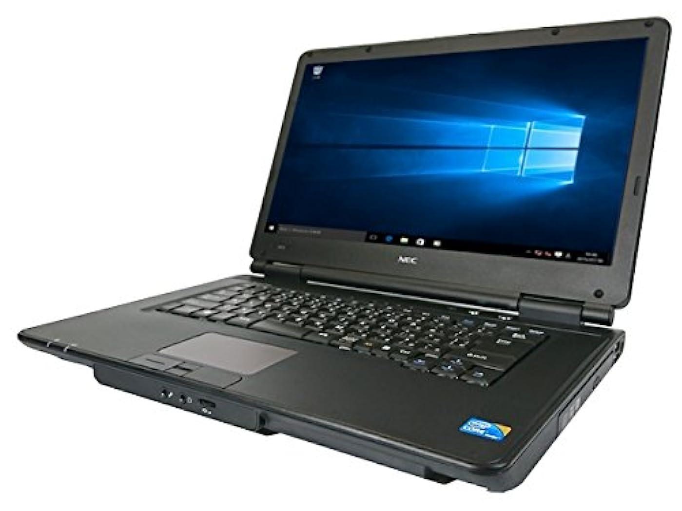 部分ラッシュ健全中古パソコン【Windows10】無線LAN対応 NEC VX-A(Core i3 2.2GHz/メモリ4GB/HDD160GB/DVD-ROM)【中古ノートパソコン】【中古パソコン販売パクス】
