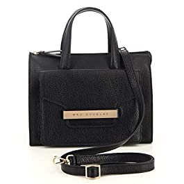 Mac Douglas – Petit sac à main bandoulière chic femme cuir Kimara (kimara-buob) taille 22 cm