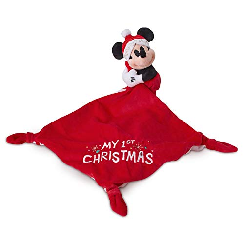 Disney Mickey Mouse ''My First Christmas'' Plush Blankie for Baby