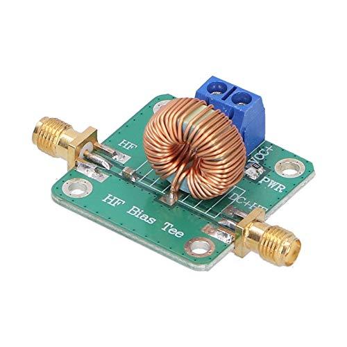 Conector SMA-K Te polarizado de CC Módulo de RF en T de bloque de CC RF con área de disipación de calor para amplificador de banda ancha Módulo de señal de microondas RF