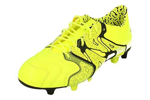 adidas, Scarpe da Calcio Uomo Multicolore Lime/Nero 48