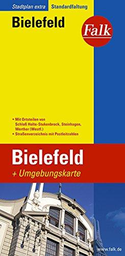 Falk Stadtplan Extra Standardfaltung Bielefeld
