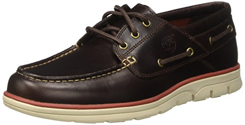 Timberland Herren Bradstreet 3 Eyebrown Pull Up Bootsschuhe, Braun (Brown Pull Up), 42 EU
