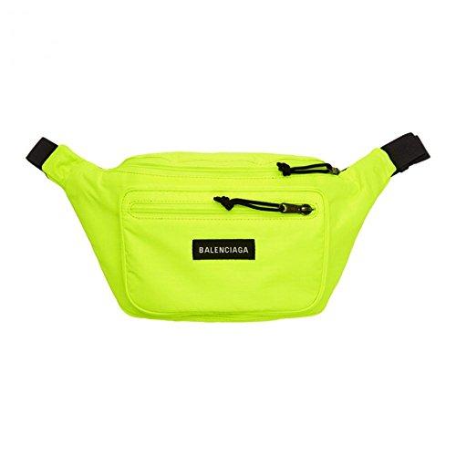 (バレンシアガ) Balenciaga メンズ バッグ ボディバッグ・ウエストポーチ Yellow Nylon Explorer Belt Pouc...