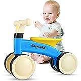 EasySMX Draisienne pour Bébé, Vélo Bébé 10-24 Mois sans Pédales, Vélo Enfant, Premier Cadeau Anniversaire Jouet Bébé 1 an pour Garçons Filles, Bleu