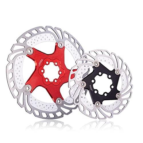 YepYes Tornillos Bicicleta Bicicletas Disco del Rotor del Freno De Acero Inoxidable De 180 Mm De Bicicletas Rotores para Bicicleta De Carretera Bicicleta De Montaña, Btt, BMX Accesorios De Bicicletas