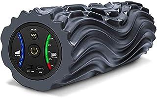 VITOP 電動 フォームローラー 筋膜リリース 振動 USB充電式 5段階振動調整 マッサージボール マッサージローラー ストレッチローラー 筋膜ローラー ジム/ホンム/オフィス/アウトドアなど適用 ヨガポール ストレッチ器具