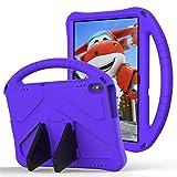GOZOPO Compatible con Huawei Mediapad T5 Funda T5 10.1 pulgadas Tablet [No compatible con Huawei T3 9.6 pulgadas] – Funda ligera y resistente a los golpes para niños (púrpura)