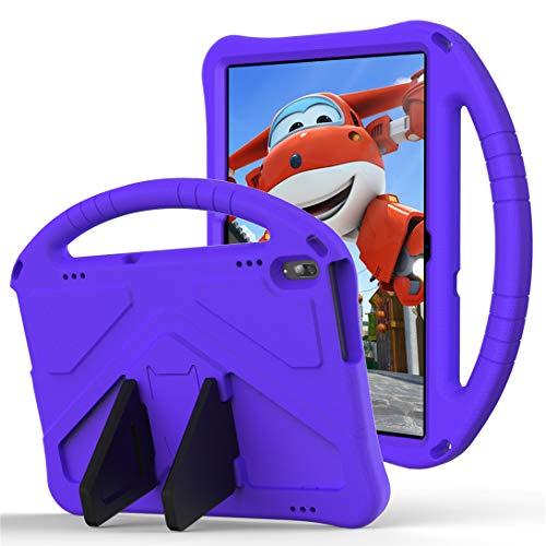 GOZOPO Compatible con Huawei MediaPad T5 Case T5 Tablet de 10.1 pulgadas [no apto para Huawei T3 de 9.6 pulgadas] – Funda ligera y resistente a los golpes para niños (morado)