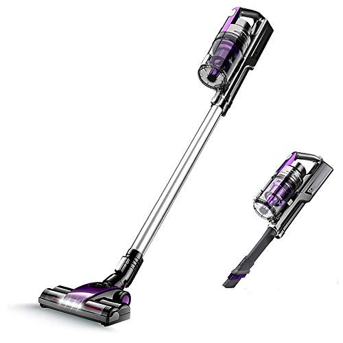 SONRU Cordless Stick Vacuum Cleaner, 10000Pa Suction Powerful Handheld Vacuum Cleaner, 3 in 1 Lightweight Upright Vacuum for Hair Home Office Pet Floor Carpet