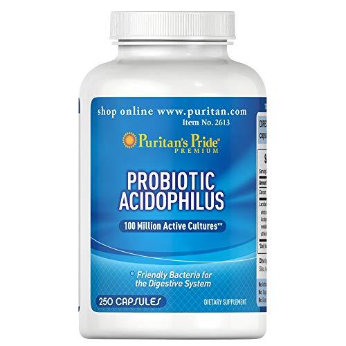 Puritan's Pride Probiotic Supplement, Acidophilus, 250 Count