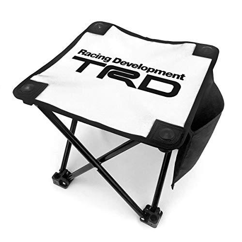 End Nazi Racing Development TRD Tragbarer Campinghocker Klappstühle Outdoor Klappstühle Für Camping Angeln Wandern