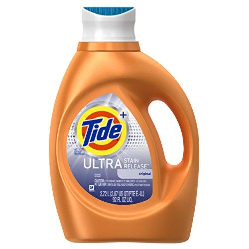 Tide Ultra Stain Release Liquid Laundry Detergent, Original - 92 oz