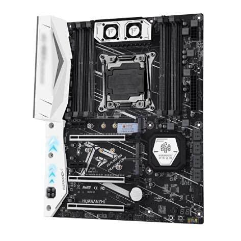 LWCX el Juego de Placa Base Fit for HUANANZHI X99 X99-TF con Xeon E5 2678 V3 LGA2011-3 4 Uds 8GB = 32GB PC3 14900R RAM 1866Mhz DDR3 ECC REG, Placas Base de Memoria para computadora