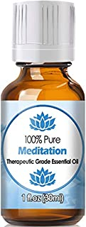 Meditation Blend Essential Oil for Diffuser & Reed Diffusers (100% Pure Essential Oil) 30ml