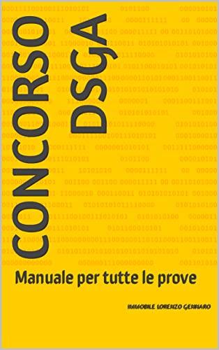 CONCORSO DSGA: Manuale per tutte le prove