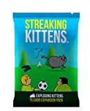 Streaking Kittens: This Is The Second Expansion of Exploding Kittens Card Game - Family-Friendly Party Games - Card Games For Adults, Teens & Kids
