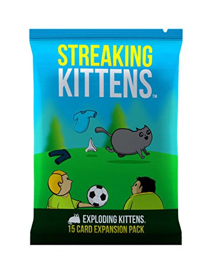 Streaking Kittens: This is the Second Expansion of Exploding Kittens, Barraja de cartas
